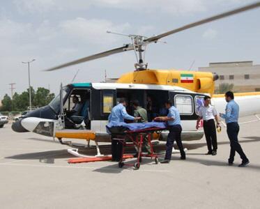 با وجود تلاش تیم سلامت استان ،بیمار جزیره در گذشت