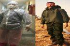 مردی با دو لباس رزم متفاوت/ جنگ بیولوژیکی از جنگ سخت، سختر است!