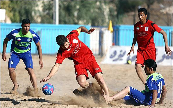 روزهای ماندگار فوتبال ساحلی استان