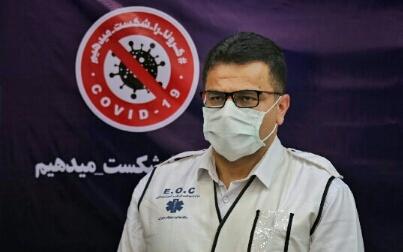 در ۹۰ روز گذشته نزدیک به ۷ هزار بیمار حاد تنفسی داشته ایم که ۲۰۰۰ نفر بستری شدند، در کادر بهداشتی و درمانی استان به طور رسمی کمتر از ۱۰ نفر مبتلا شده اند، تعدادی هم ناقل بدون علامت بوده اند