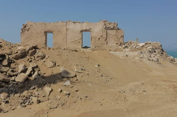 تخریب ساختمان قدیمی و تاریخی گمرک بندر لاور توسط گمرک استان