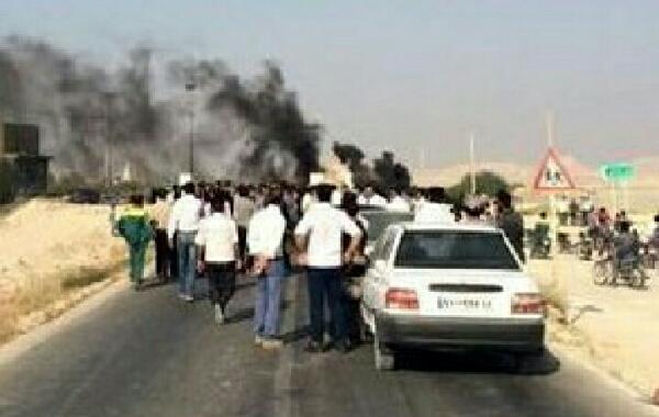 نزدیک ۶۴ نفر کشته وتعداد ۱۲۰نفر مصدوم غیر از خسارات مادی در جاده بوشهر _ دیر