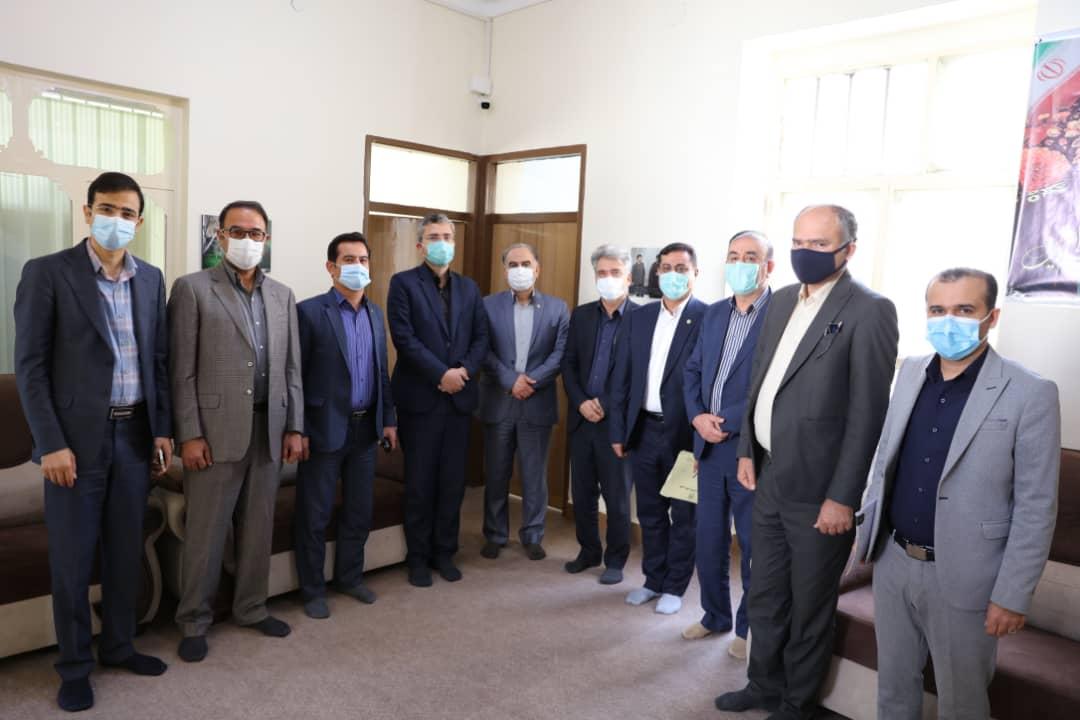 گزارش نشست مورخ ۱۶/۱۰/۱۳۹۹ دفتر مردمی نماینده محترم دشتستان