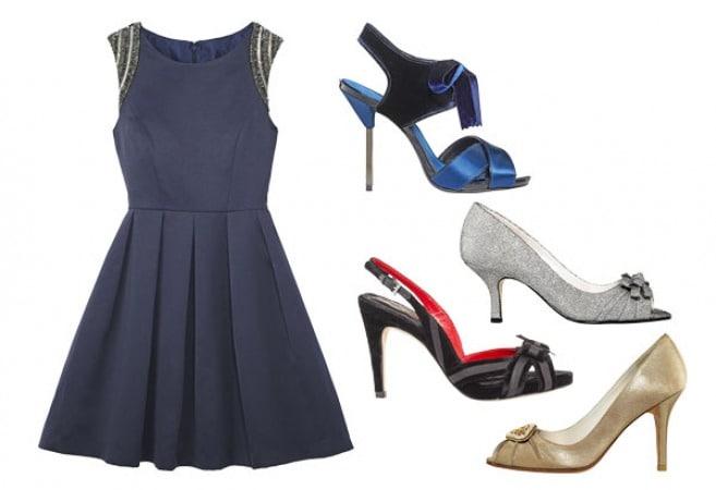 با هر رنگ لباس چه رنگی از کفش مناسب است؟