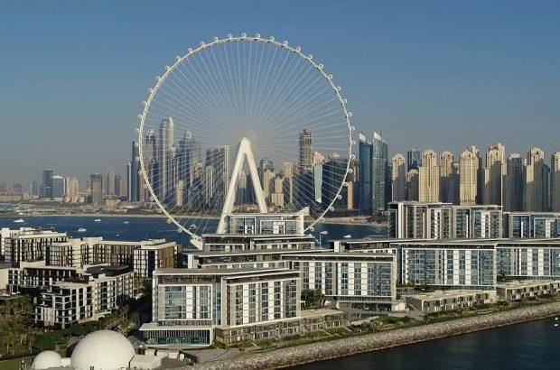 بلندترین چرخ و فلک جهان در دوبی آغاز به کار میکند/مقایسه کنید با چرخ و فلک بوشهر